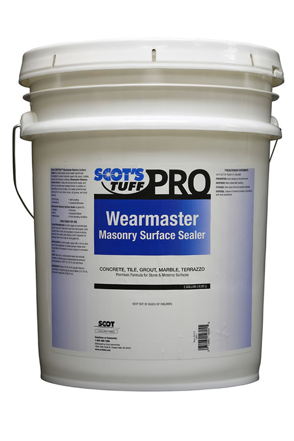 Wearmaster Masonry Surface Sealer
