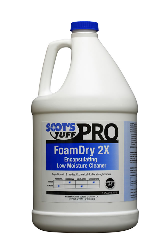 FoamDry 2x Encapsulating Low Moisture Cleaner