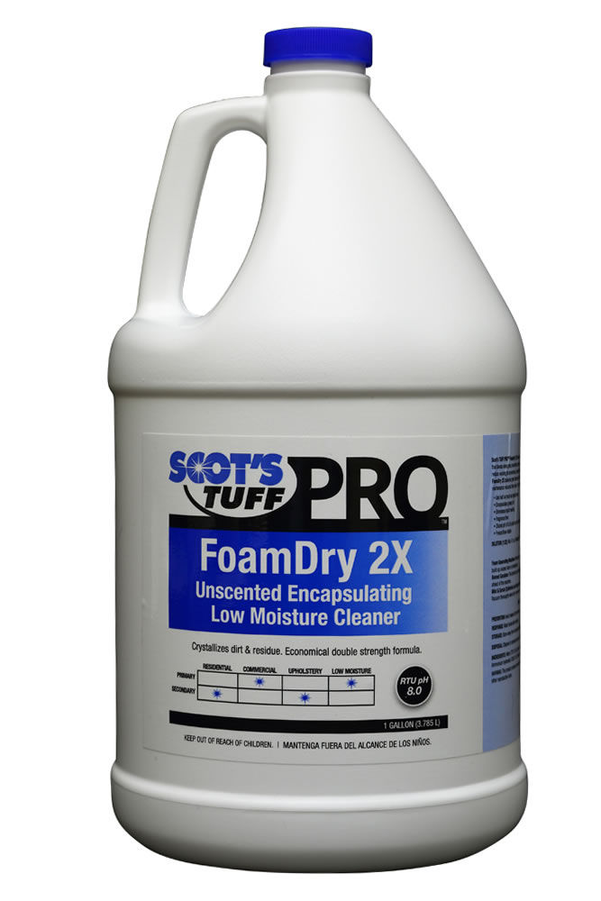 FoamDry 2X Unscented Encapsulating Low Moisture Cleaner