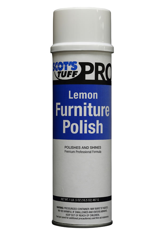 Lemon Furniture Polish ( 12 - 16.5oz. Cans )