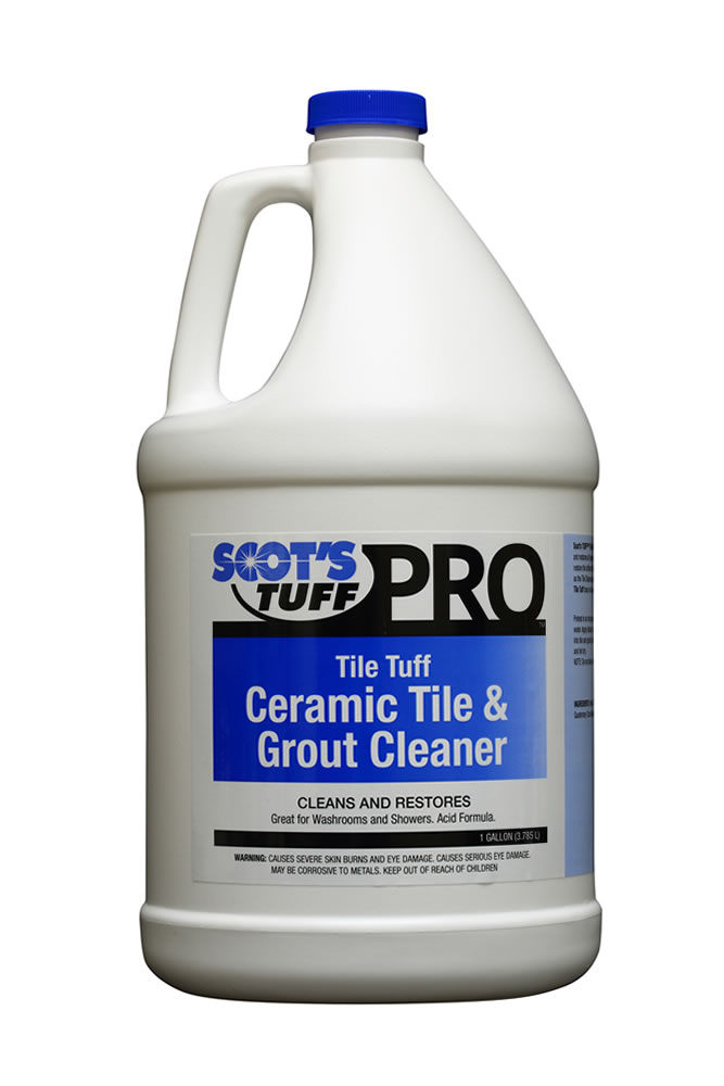 Tile Tuff Ceramic Tile and Grout Cleaner ( 4 - 1 Gallon Bottles )