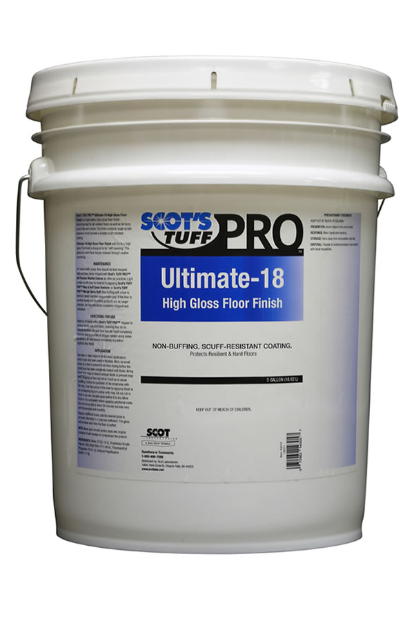 Ultimate-18 High Gloss Floor Finish