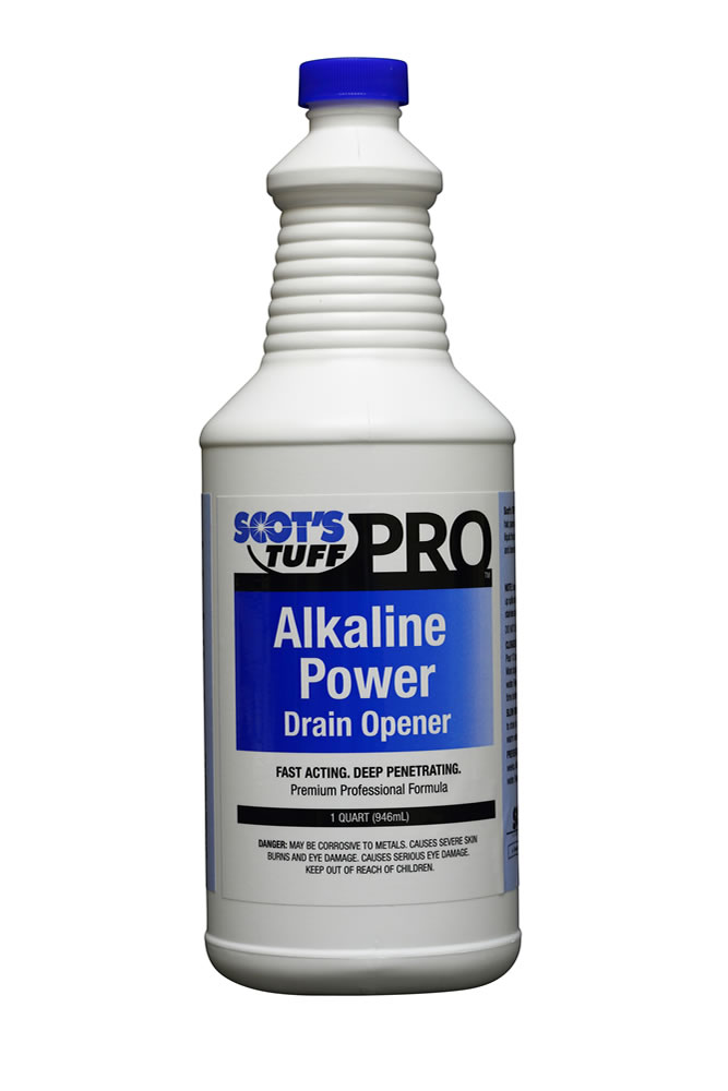 Alkaline Power Drain Opener ( 12 - 32oz. Bottles )
