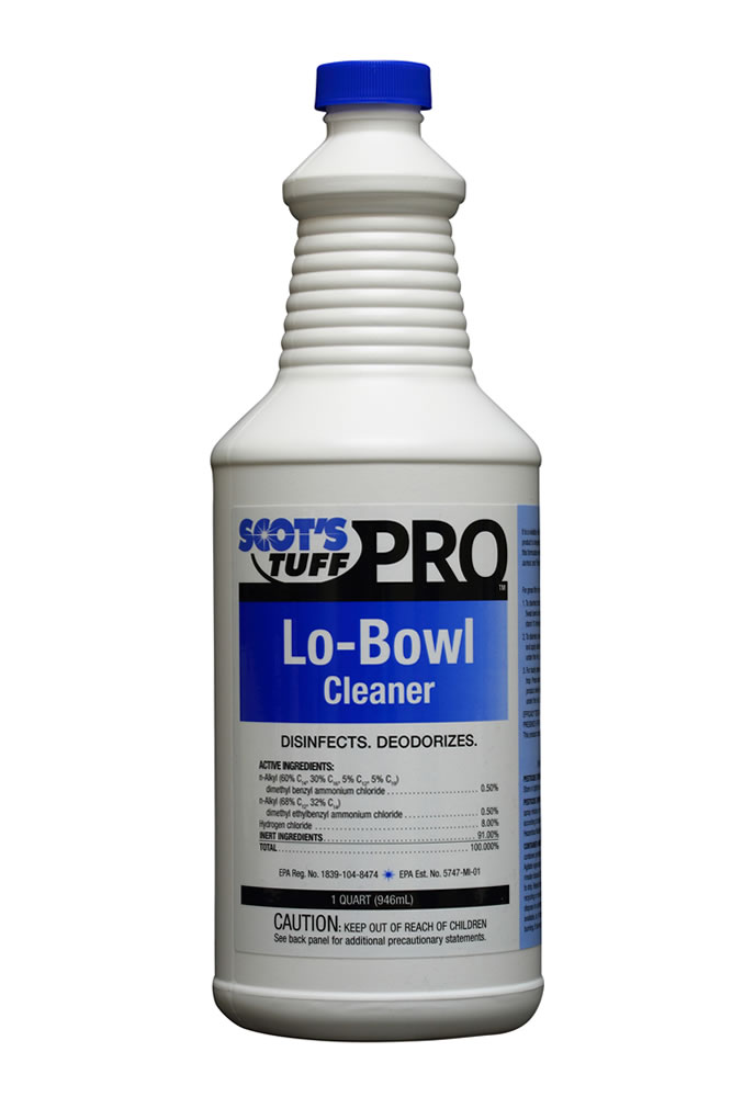 Lo-Bowl Cleaner ( 12 - 32oz. Bottles )
