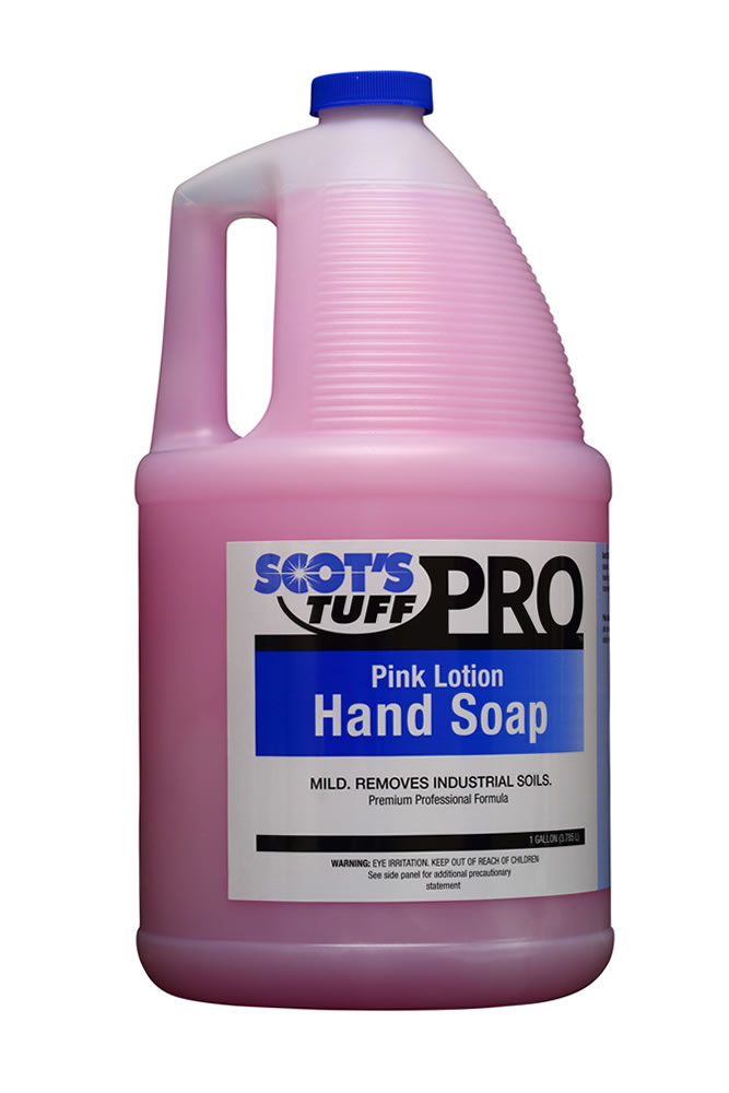 Pink Lotion Hand Cleaner ( 4 - 1 Gallon Bottles )